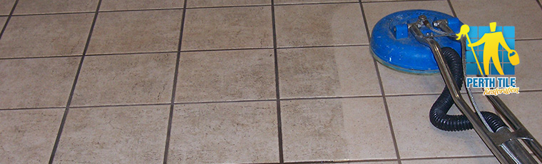 cleaning tiles and grout perth
